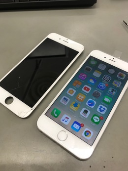 iPhone6s画面割れ修理!【八王子から】