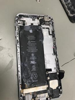 iPhone6Sの水没修理を承りました