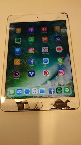 タッチの効かないiPad mini4も自由が丘で修理可能です。