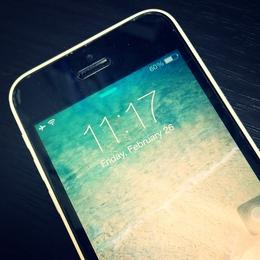 iPhone5cを洗濯してしまった・・・水没修理!  足立区北千住よりご来店