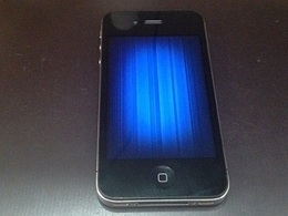 iPhone4のバッテリー交換依頼 取手市よりご来店