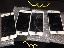 iPhone5sのバッテリー交換!最短10分~! 松戸市よりご来店