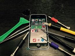iPhone5のホームボタンがきかない! 取手市よりご来店