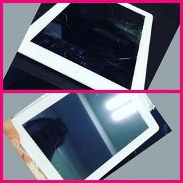 iPadの画面交換 柏市よりご来店
