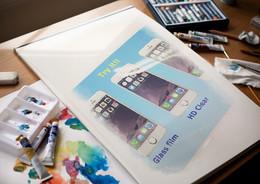 iPhone修理時には強化ガラスフィルムも一緒に!!   柏市よりご来店