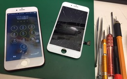 iPhone7 画面割れ交換修理でご来店のお客様