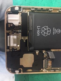 八王子市よりご来店 iPhone6Plus水没修理