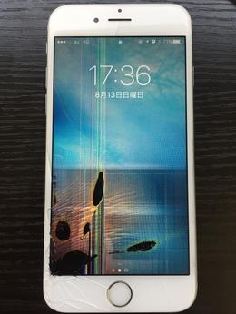 渋谷区よりご来店 iPhone6s 液晶パネル交換
