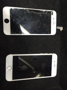 練馬区よりご来店iPhone6フロントパネル修理