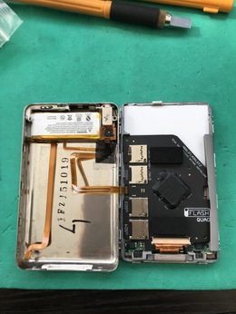 3連続!iPod Classic SD化