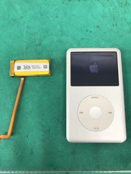 iPod classic バッテリー交換