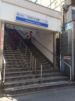 ひばりヶ丘北口店への行き方1