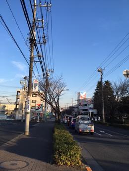 東大和玉川上水店への行き方2