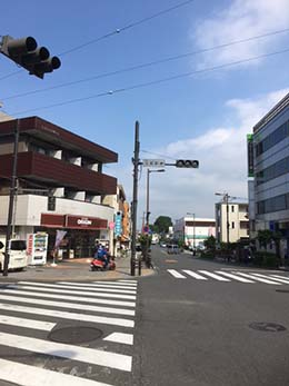 日野豊田店への行き方3