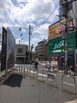 上石神井店への行き方1