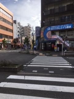 久米川南口店への行き方2