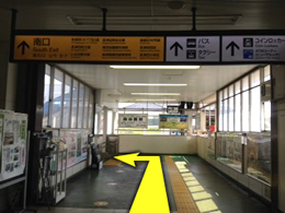 長津田店への行き方1