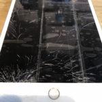 iPadmini4 ガラス割れ修理 瀬谷区 ガラスが割れて粉々になってしまった