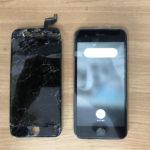 どんなにバキバキに割れていても修理できます!iPhoneの画面割れ修理ならクイック千葉成田店にご相談ください!