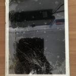 香取市西和田よりiPad5の画面が割れてしまったとご来店頂きました。データそのまま修理完了しました!!