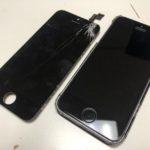 iPhone6S画面ひび割れ修理/原宿・表参道店