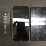 iPhone 画面修理 即日対応致します!!