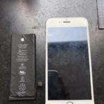 新百合ヶ丘よりiPhone6バッテリー交換