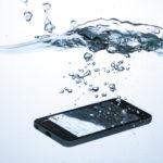 スマートフォンが水没した時の対処法