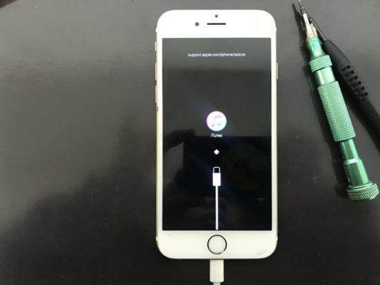iOS12アップデートに失敗