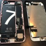 iPhone 7 バッテリー交換 即日交換10分♪