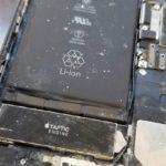 海で水没 したiPhoneのデータ復旧
