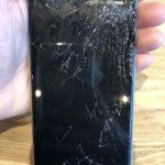 iPhone6S 画面交換 神奈川区 画面のガラスが取れたまま使っていた