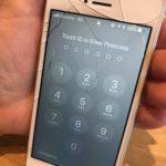 iPhoneSE 画面交換 保土ヶ谷区 iPhoneを地面に落としてしまい画面がバキバキになってしまった