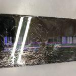 コンクリートへ落下、、、iPhone8画面交換