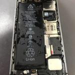 iPhone 5sの水没修理でご来店頂きました!データが取り出せる状態まで復旧しました!!
