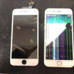 iPhone6S液晶破損修理/クイック原宿・表参道店