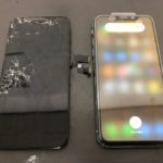 iPhone Xデータそのまま即日修理!