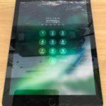 iPad 5 印旛郡酒々井町より画面割れ修理で当日修理で完了!