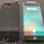 八千代市高津団地よりiPhone 6 s plus液晶修理でご来店!