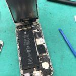 iPhone6sのバッテリー交換でご来店頂きました!