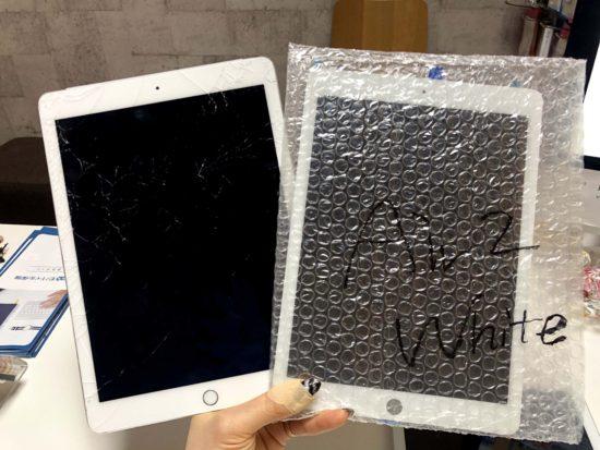 iPadair2画面修理