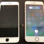 iPhone7何も映らなくなってもデータそのまま即日修理致します!