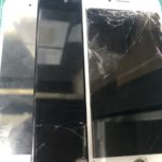 画面修理ガラス割れ液晶割れタッチ効かないetc