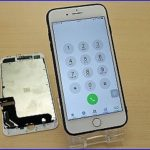 iPhone8Plusのガラス交換修理に中国よりご来店!アイフォン修理のクイック岐阜