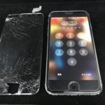 成田市不動ヶ岡よりiPhone 6sの画面割れ修理でご来店頂きました!