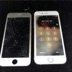 富里市日吉倉よりiPhone 6sの画面が割れてしまったとご相談いただきました!約40分で修理完了しました!