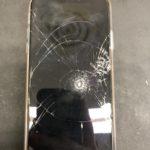 iPhoneの画面交換修理、即日対応即日お渡し!!