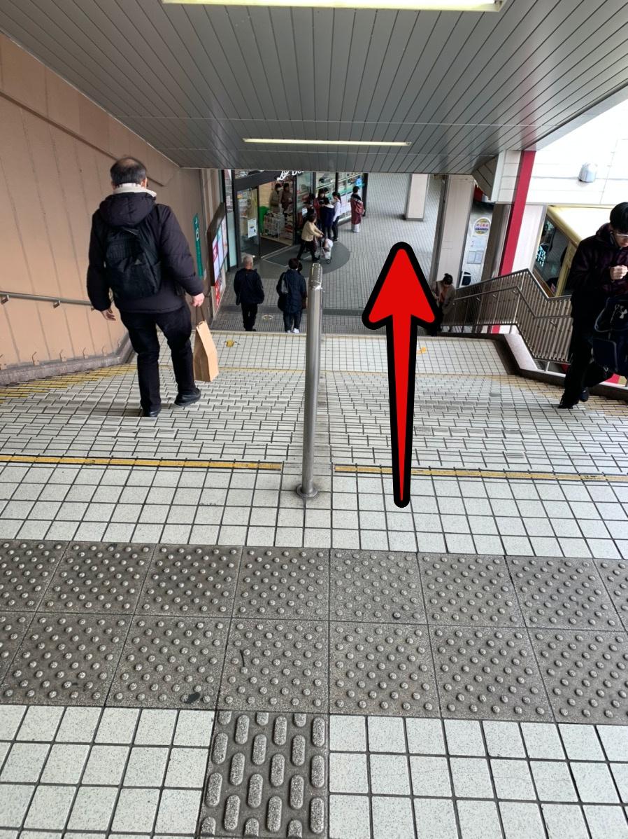 中山店への行き方3