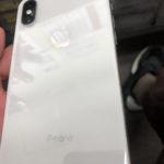 iPhone(アイフォン)Xバッテリー交換しました!!