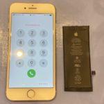 iPhone8の電源がつかない→バッテリー交換で解決!